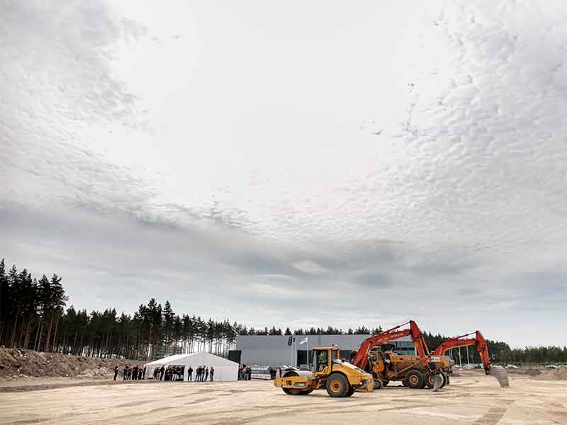 Norden Machinery is moving to a new factory in Kalmar.